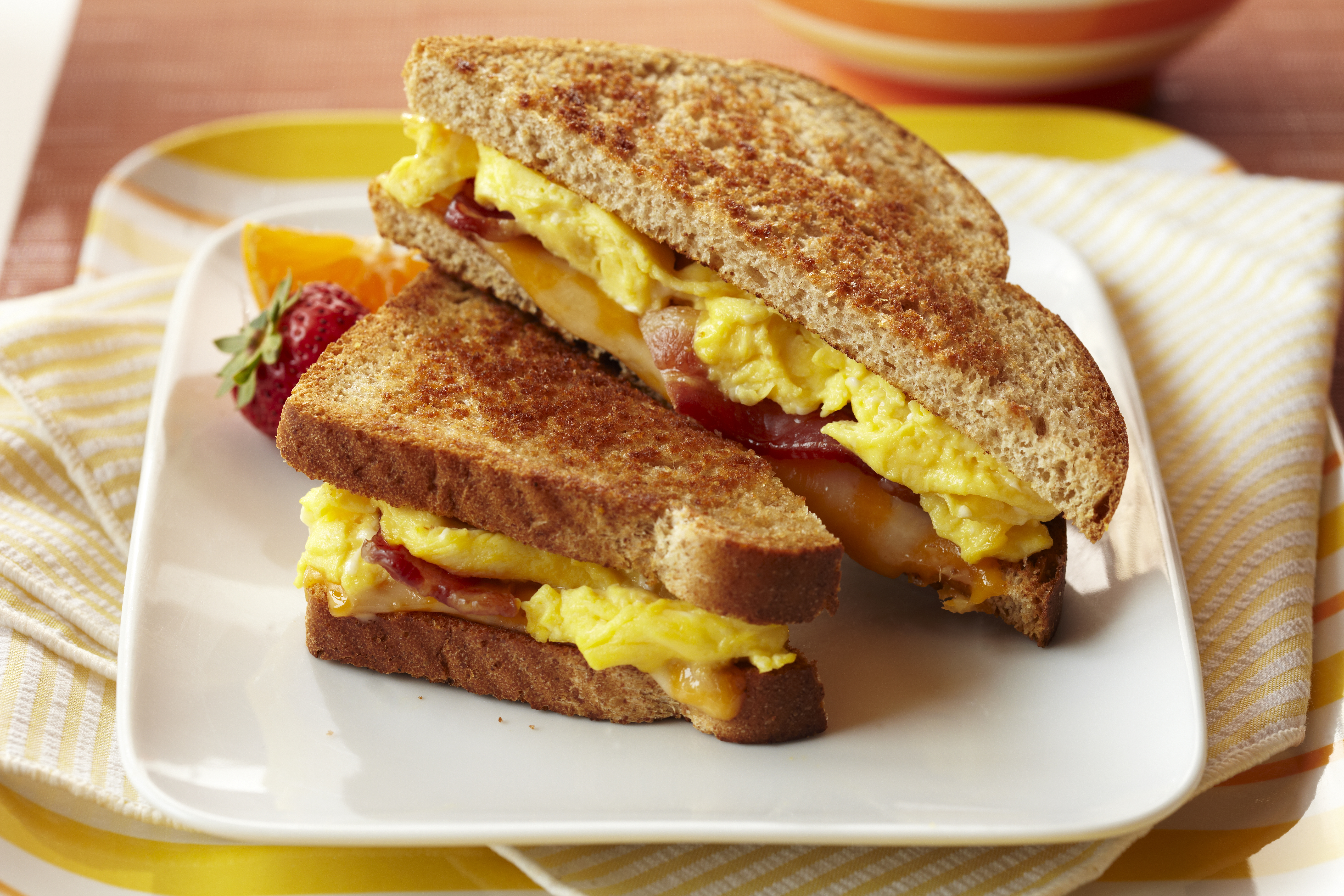 Bacon and Egg Grilled Cheese